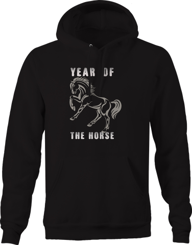 Year of the Horse Asian Chinese Calender Hoodie