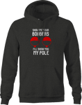 Show Me Your Bobbers Pole fishing Fish Tackle Hoodie