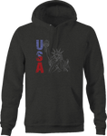 USA Liberty Statue American Freedom Hoodie