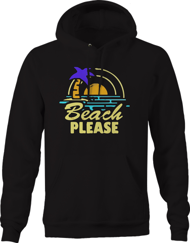 Beach Please Sand Summer Vacation  Hoodie