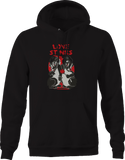 Love Stinks Skunks Romantic Heart  Hoodie