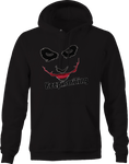 Keep Smiling Scary Joker Clown  Hoodie