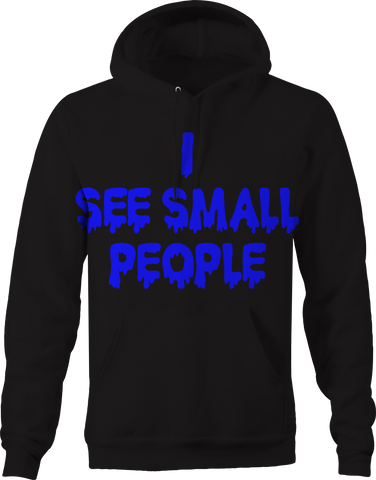 I See Small People Workout Gym Bodybuilding Muscles Hoodie