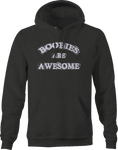 Boobies are Awesome Breast Cancer Aweness Hoodie