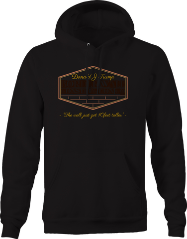Donald Trump Border Wall Construction Co Contractor Hoodie