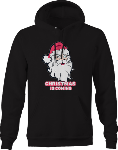 Christmas is Coming Winter Santa Claus  Hoodie