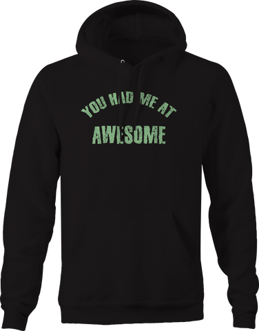 You Had Me at Awesome  Hoodie