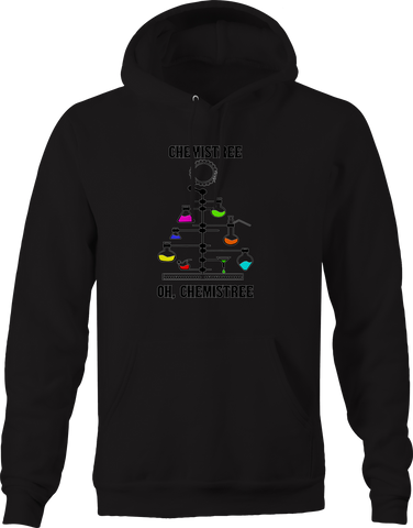Chemistry Chemistree Christmas Tree Science  Hoodie