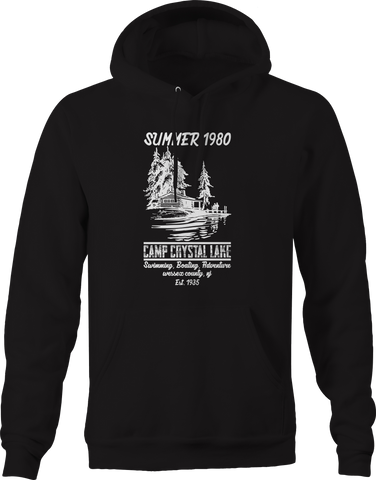 Summer Camp 1980 Crystal Lake Movie Hoodie
