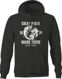 Great White Shark Tours Amity Island Week 1974 Hoodie