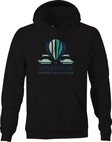 Adventure Unforgettable Vacations Hot Air Balloon Hoodie