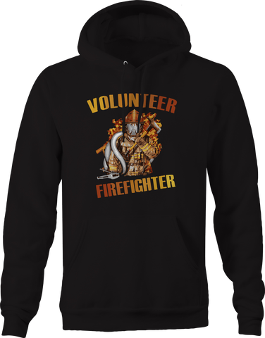Volunteer Firefighter Fire Department Hoodie