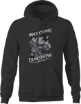 Welcome to the Gun Show Cartoon Muscles Hoodie