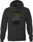 This is My Camping shirt Tent Campfire Nature Hoodie