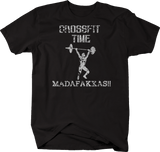 Distressed - Fitness Time MADAFAKKAS! Funny Workout Lifting