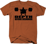 Depth Before Dishonor Workout Powerlifting Squat
