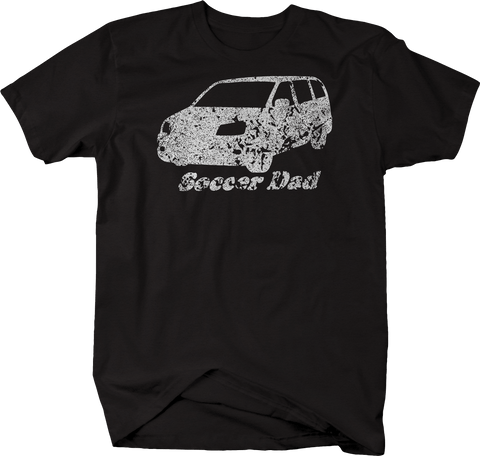 Distressed - Soccer Dad Minivan Mom Family Kids Coach