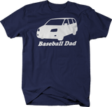 Baseball Dad Minivan Mom Family Kids Coach