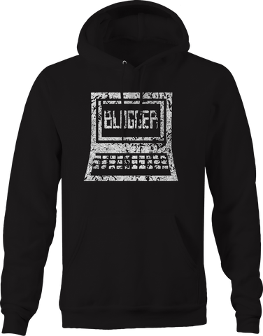 Old School Blogger Internet Website  Hoodie