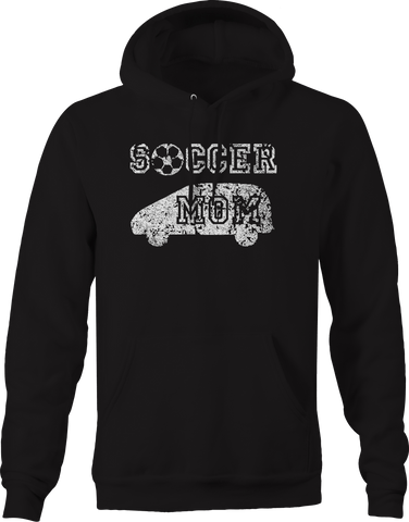 Soccer Mom Minivan Ball Team Sports Hoodie