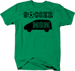 Soccer Mom Minivan Ball Team Sports
