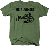 Social Worker Therapist Couch