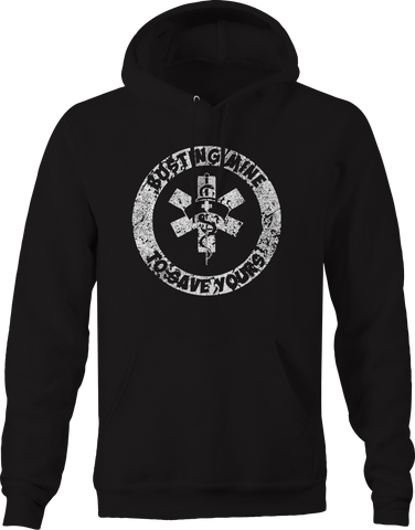 EMS Emergency Room - Busting Mine to Save Yours  Hoodie