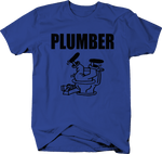 Plumber Plumbing Trade Master Toilet Pipes Plunger