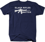 Black Rifles Matter AR15 BLM NRA Gun Rights