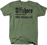 Distressed - Offshore where the Reel Fishing's At!