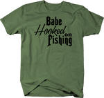 Babe Hooked on Fishing