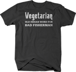 Vegetarian Old Indian Word for BAD FISHERMAN
