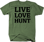 Live Love HUNT BOLD