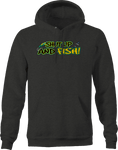 Shut Up and Fish Hooked Lure Fishing Lake Ocean River Bass Trout Hoodie