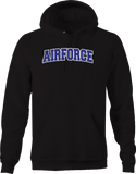 Airforce Military Freedom Fighter Relentless Caring Giving Hero Hoodie
