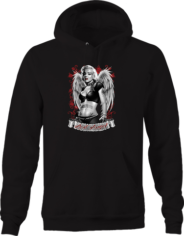 Lost Angel Marilyn Monroe Sexy Hot Naughty Women Roses Tattoos Hoodie