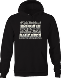 If you Think I'm a Bitch you Should Meet My Daughter Funny Family Hoodie