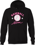 Baseball Mom Sports Team Champion Family Fun Athlete Star Winner Hoodie
