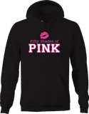 Fifty Shades of Pink Sexy Kissing Lips Love Romance Compassion Hoodie