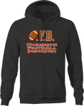 OFD Obsessive Football Disorder Sports Funny Athlete Champion Hoodie