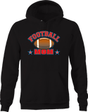 Football Mom Sports Athlete Touchdown Tackle Star Win Champion Hoodie
