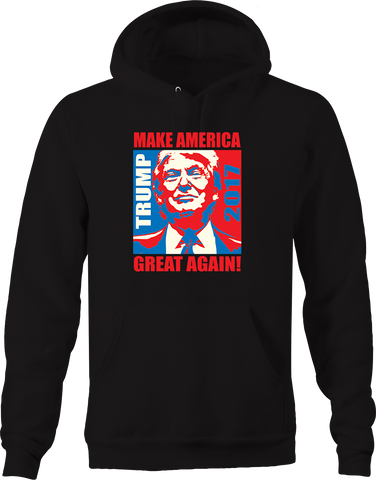 Trump Make America Great Again POTUS Leader Freedom USA Merica Hoodie