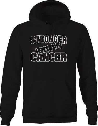 Stronger than Cancer Fighter Relentless Breast Women Fearless Hoodie