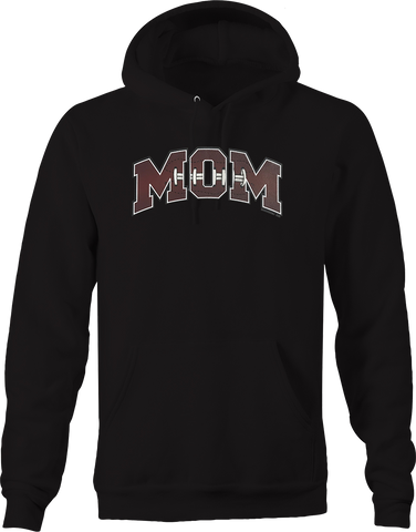 Football Mom Sports Athlete Athletic Touchdown Field Tackle USA Hoodie