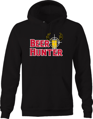 Beer Hunter Big Buck Country Hunting Rifle Sight Deer Venison Hoodie