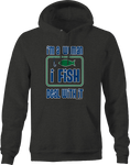 I'm a Women I Fish Deal With It Hooked Bait Fish Water Relaxing Hoodie