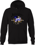 Adventure Tropical Paradise Charters Sport Fishing Sword Fish Hoodie