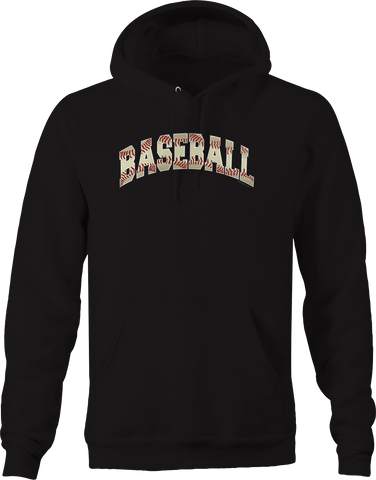 Baseball Sports Athlete Homerun Grand slam Bases Mound Field USA Hoodie