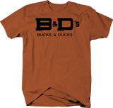 Bucks & Ducks Keeping it Simple Custom Logo