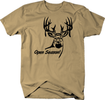 Big Buck Open Season! Deer Hunting Rack Antlers